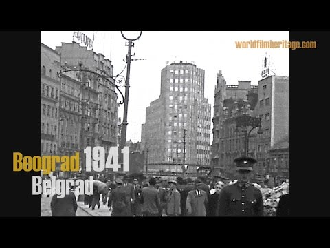 Belgrad 1941 - Beograd - Belgrade - German Occupation