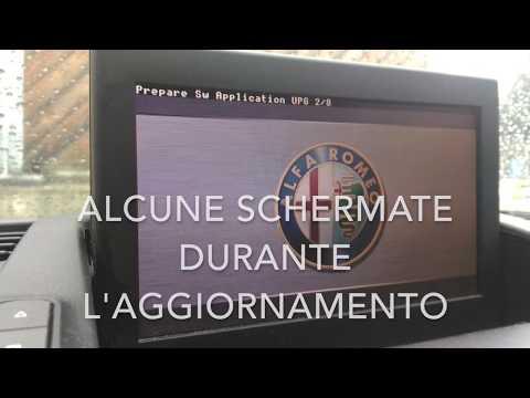 aggiornamento firmware Radionav  Alfa Romeo Giulietta