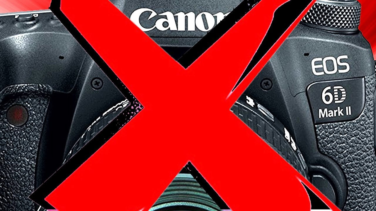 Canon 6D Mark II - FOUR Reasons NOT to Buy the 6D2
