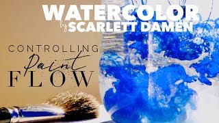 How to Use Watercolor: Controlling the Water in Watercolor