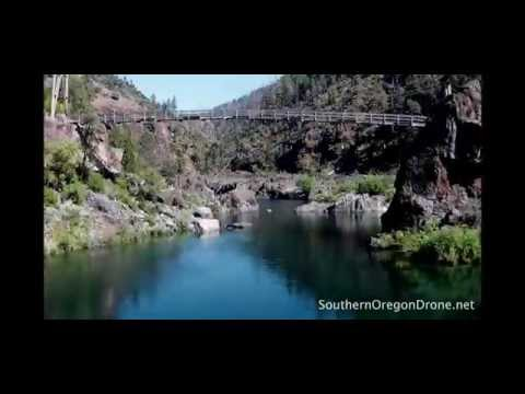 Illinois River - Southern Oregon Drone