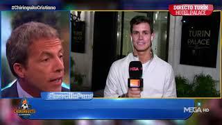 Video LOCURA EN TURIN! aficionados de la Juve interrumpen a Edu  Al GRITO de SIIIIIIU download MP3, 3GP, MP4, WEBM, AVI, FLV Juli 2018