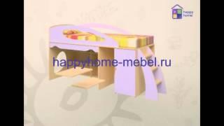 видео Кровать-чердак Орбита-1