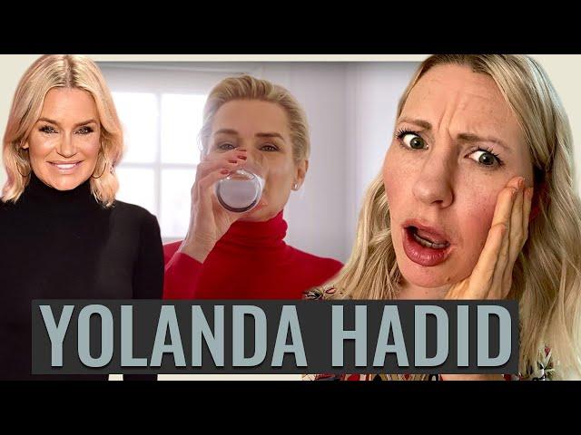 Dietitian Reviews Yolanda Hadid (Were Bella & Gigi DOOMED?!)