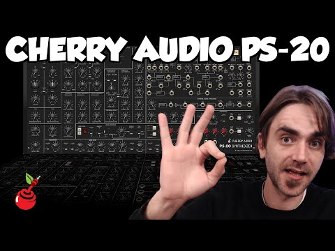 Cherry Audio PS-20 - Tribute to the classic Korg MS-20