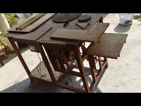 Sierra circular de mesa casera youtube - Sierra circular de mesa barata ...