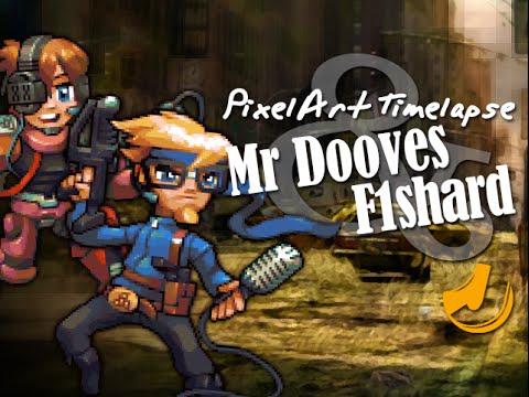 Pixel Art - Mr Dooves and F1shard (Triforcefilms)