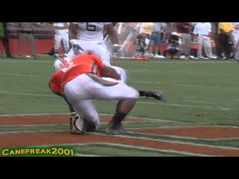 Willis McGahee Miami Hurricanes - Can't Be Touched