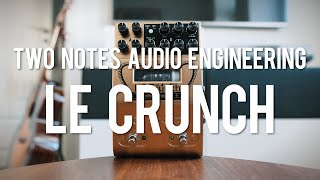 Two Notes Le Crunch Preamp Pedal (demo)