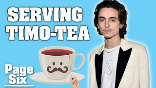 Six Facts About Timothée Chalamet You'd Be Shocked To Know | Page Six Celebrity News