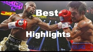 BEST HIGHLIGHTS - The Greatest moments of Floyd Mayweather, Jr. VS. Manny Pacquiao 2015 (FULL HD)