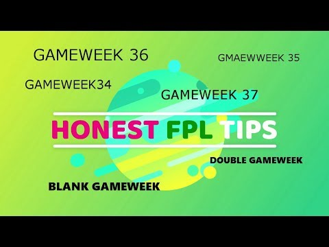Fpl Tips-Gameweek 35 FREE HIT TEAM(in Description) And GW 36,37 My Strategy To Get Maximum Points