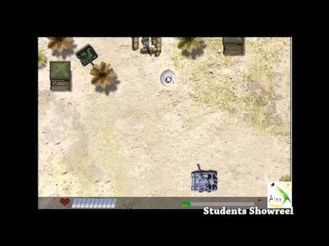 AIGA students Game Programming Reel