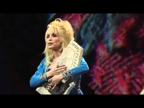Dolly Parton playing 'Coat of Many Colors' on an Autoharp