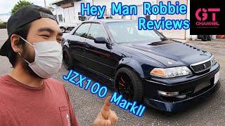 Toyota JZX100 MarkII Drift Car By Shout Rogue TV- Heyman Robbie's Review - GTChannel
