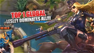How to become MLBB Pro: Lesley Dominates EVERYONE - Top 1 Global Lesley Build - Mobile Legends