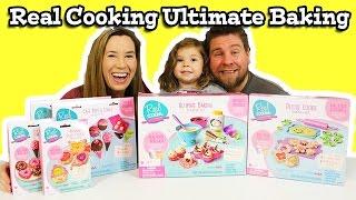 Real Cooking Ultimate Baking Starter Set - Let's Make Cupcakes!!!