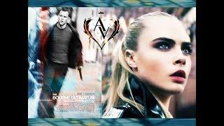 Jason Bourne rescues Cara Delevingne | Джейсон Борн спасает Кару Делевинь