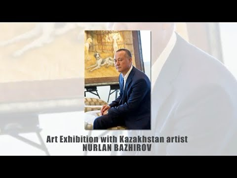 Pegas Art Gallery & Olymp Art Exhibition - Kazakh Batyrs - Nurlan Bazhirov