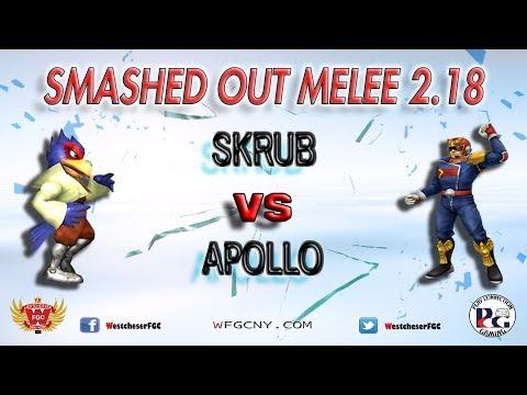 Smashed Out Melee V2.18 - Skrub Vs. Apollo - Losers Final