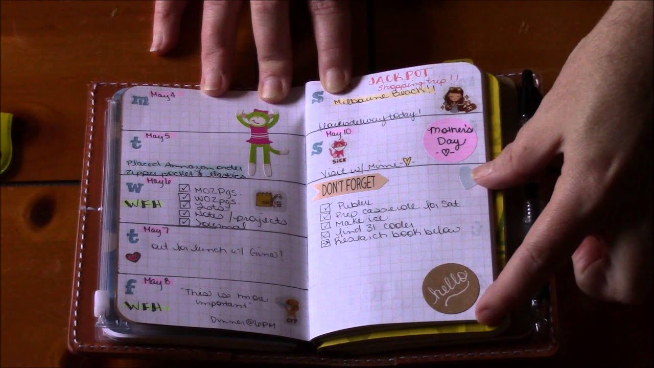 Downsizing Wallet Planner Combo Youtube