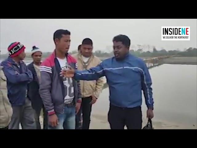 """Assam: Tinsukia Village Builds """"Zubeen Garg Bridge"""""""