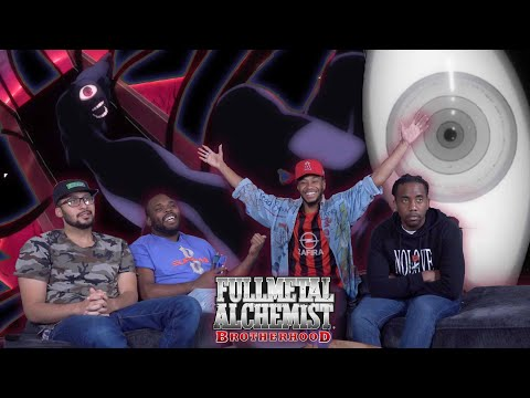 Father Opens The World's Portal! Full Metal Alchemist Brotherhood 59 & 60 REACTION/REVIEW