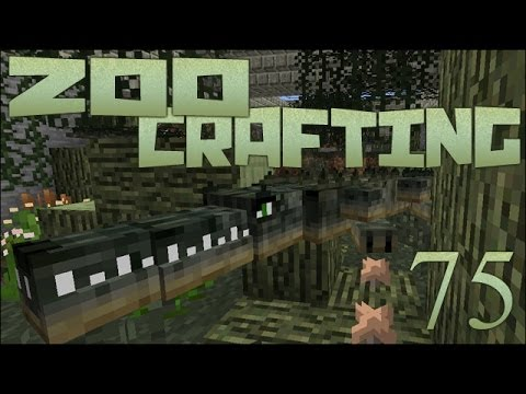 Cagey Crocodiles!!! 🐘 Zoo Crafting: Episode #75