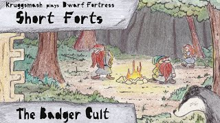 Dwarf Fortress Short Forts: The Badger Cult of Dead Elf Island