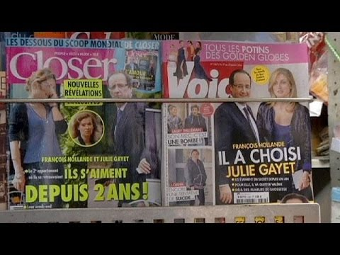 Hollande Visits First Lady Valerie Trierweiler In Hospital