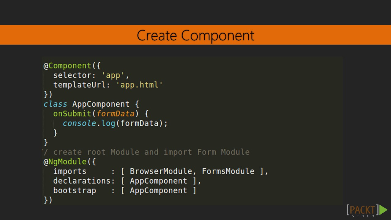 Web Development with Angular 2 & Bootstrap : Angular 2 Template ...