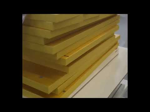 kitchen cabinet making:high gloss mdf sheets cut to size