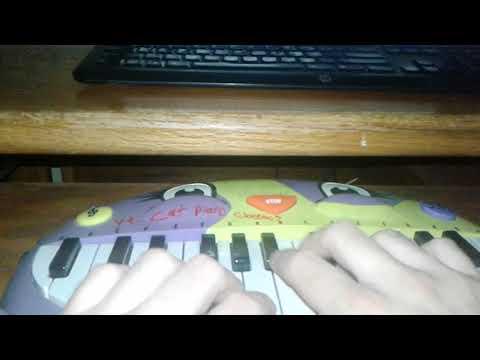 Under The Sea Cat Piano Cover
