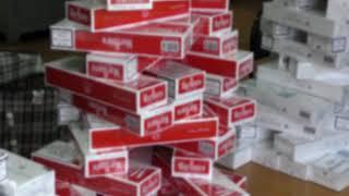 В Брянске задержали крупную партию контрафактных сигарет