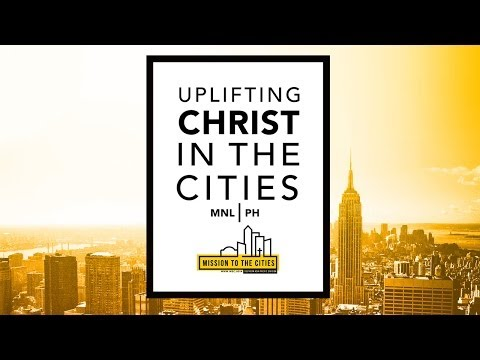 International Field School of Urban Evangelism - Manila May 15