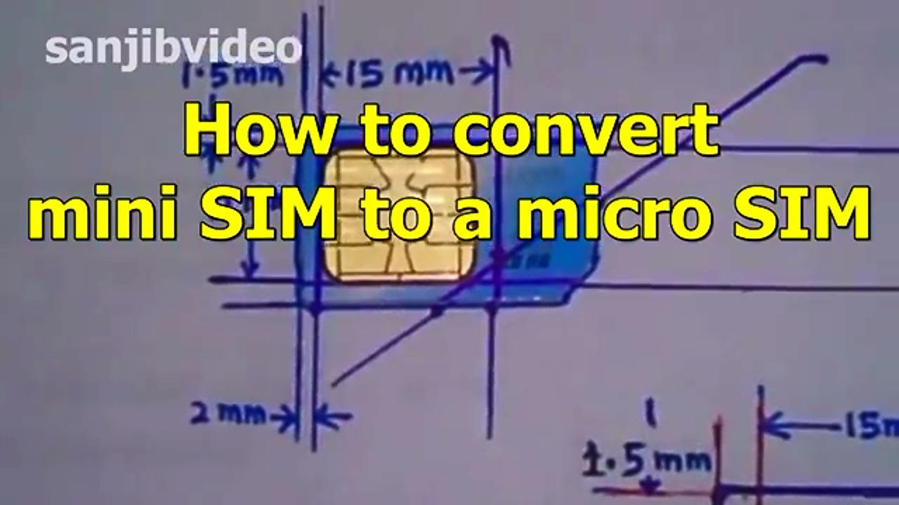 mini sim micro sim