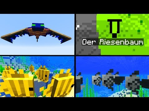 """Minimap"" Marker! Neues Phantom! - Minecraft Update 1.13 - 18w10b"