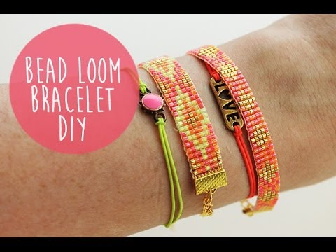 how to make your own bead weaving loom