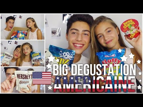 Thumbnail: ★BIG DEGUSTATION AMERICAINE★ w/ma soeur - MY LITTLE AMERICA