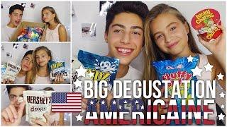 ★BIG DEGUSTATION AMERICAINE★ w/ma soeur - MY LITTLE AMERICA