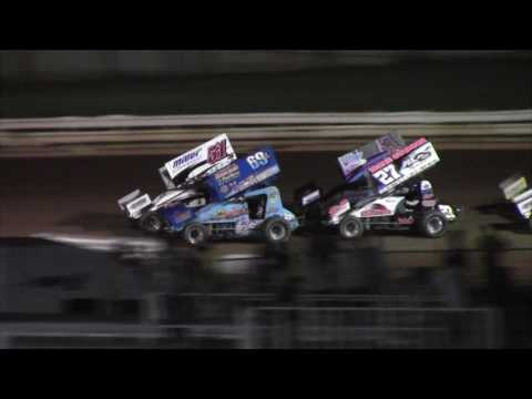 Williams Grove Speedway 410 and 358 Sprint Car Victory Lane 7-16-16