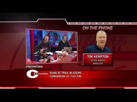 Trail Blazers Courtside - Suns Radio Analyst Time Kempton