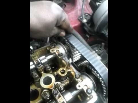 2001 Honda CR V Timing Belt