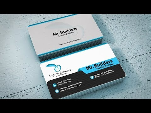 The corporate business card design in adobe illustrator | printable | part-1