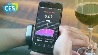 Браслет для мониторинга алкоголя в крови