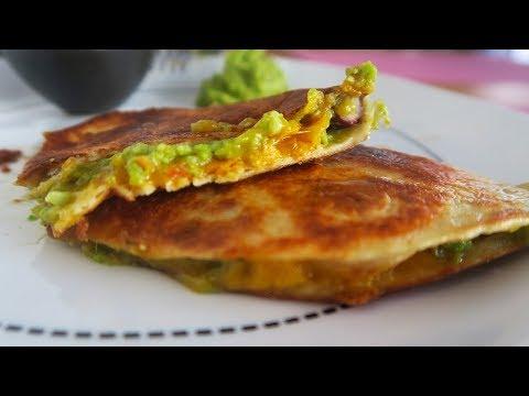 quesadillas-veggie---avocat/tomates/cheddar