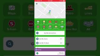Citymapper app - overview screenshot 2