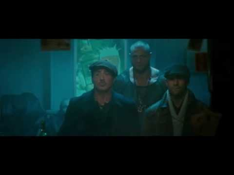 The Expendables 2 - Bar/Pub fight (1080p)