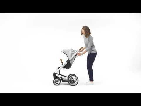 Mutsy Промо пакет Mutsy i2 UN Black + Кош за новородено и Седалка и сенник Mutsy i2 Heritage Stone Grey #6mgeXjyD1Cs