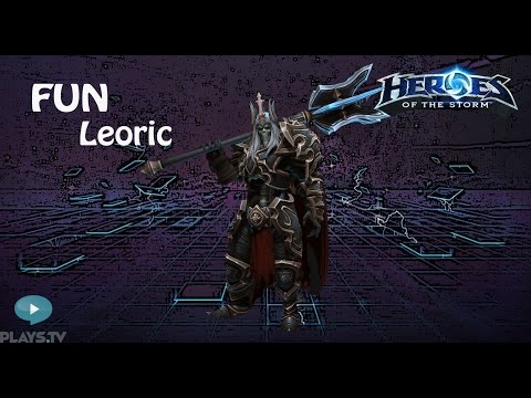 видео: heroes of the storm: top 1 eu (12 выпуск) - Леорик